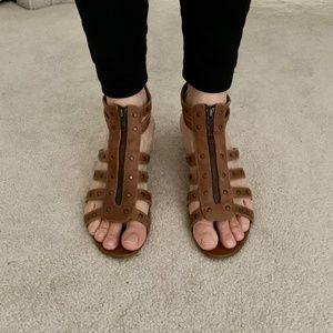 Brown's Gladiator Leather Sandals (8)